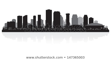 New Orleans Skyline Free Vector Art.