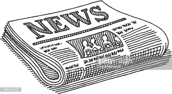 Newspaper clipart 4 » Clipart Station.