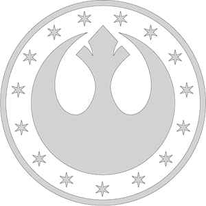 Star Wars New Republic Kalimdor Logo Vector (.EPS) Free Download.
