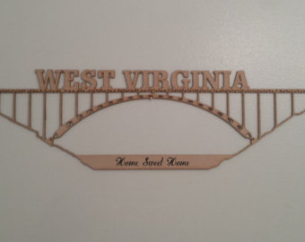 Items similar to New River Gorge Bridge, West Virginia.