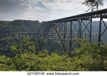 Stock Photo of New River Bridge k21104143.