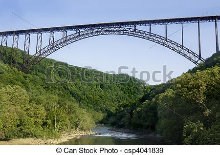Stock Photographs of New River Gorge Bridge.