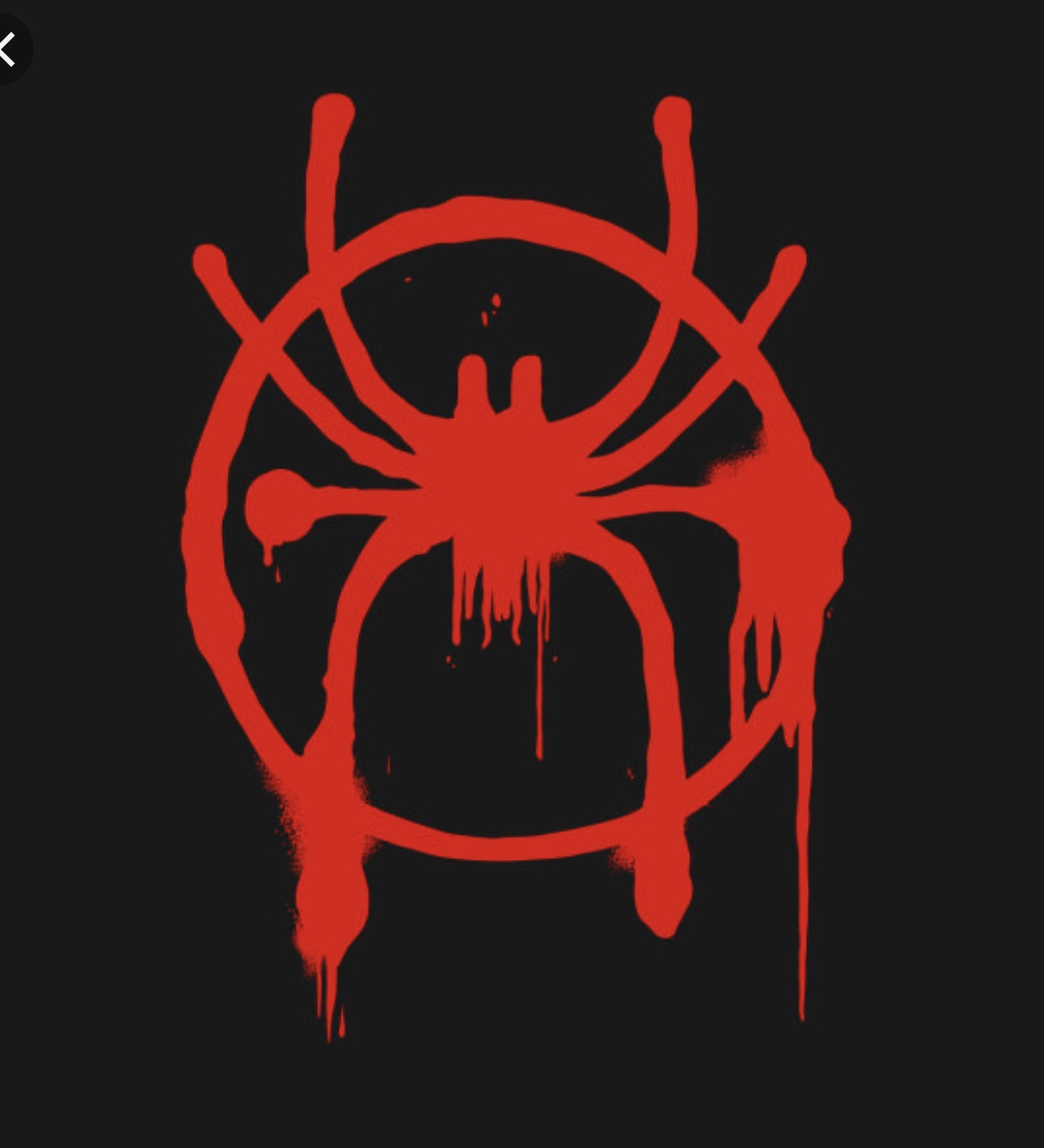 new spiderman logo symbol.