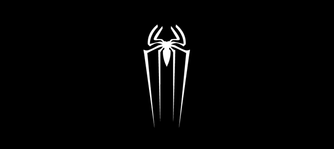 spiderman logo The new spider man logo down with design png.