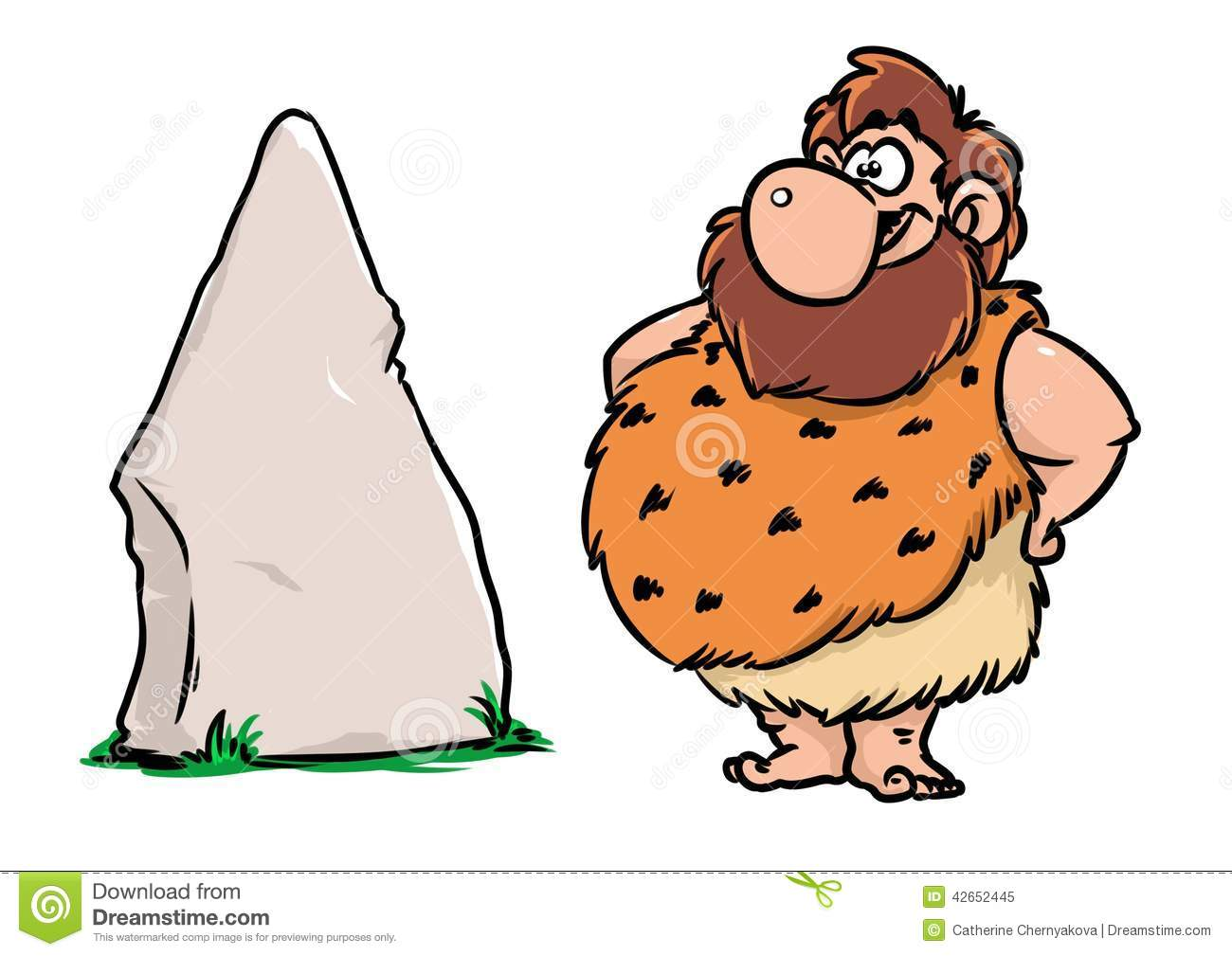 Stone Cartoon Clipart.