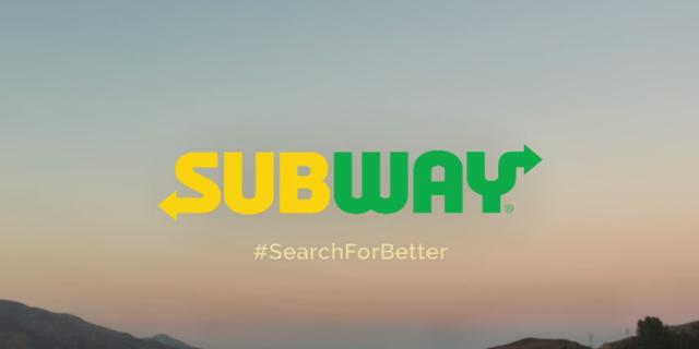 Subway has a new logo.
