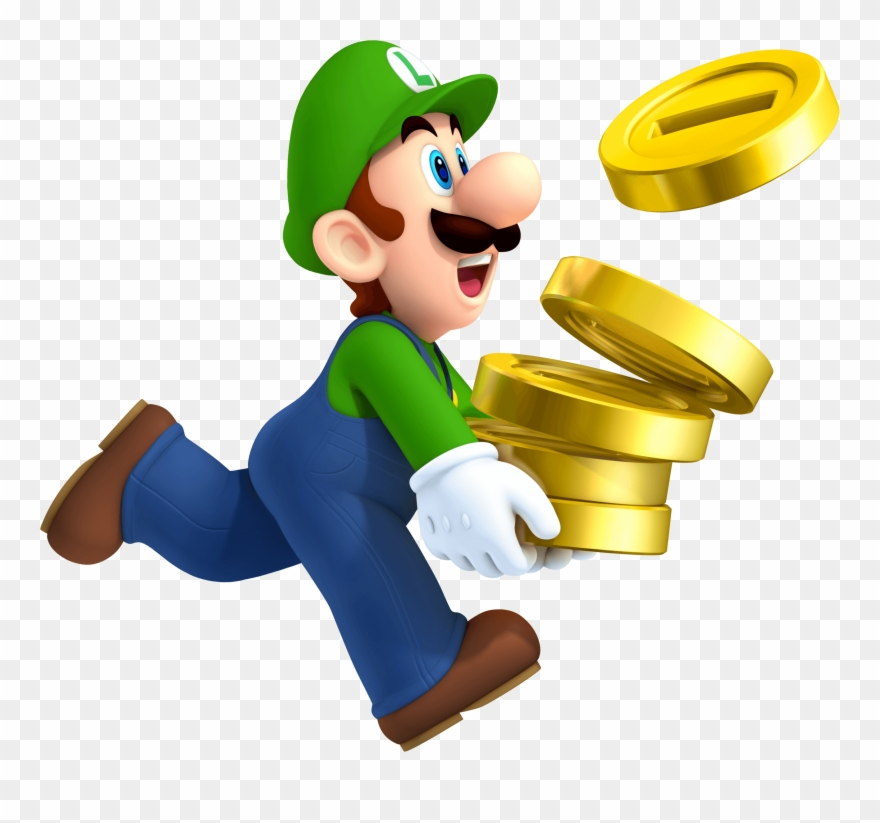 Luigi Coins New Super Mario Bros 2.