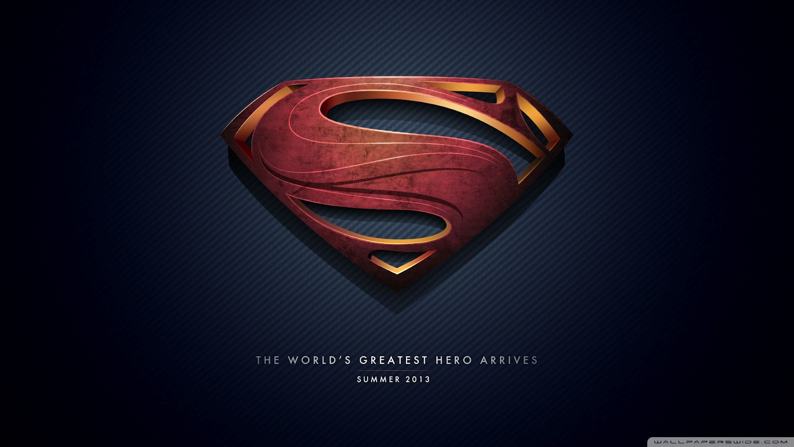 NEWS BUZZ ME: New Superman logo.