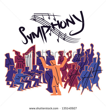 Symphony Orchestra Clipart.