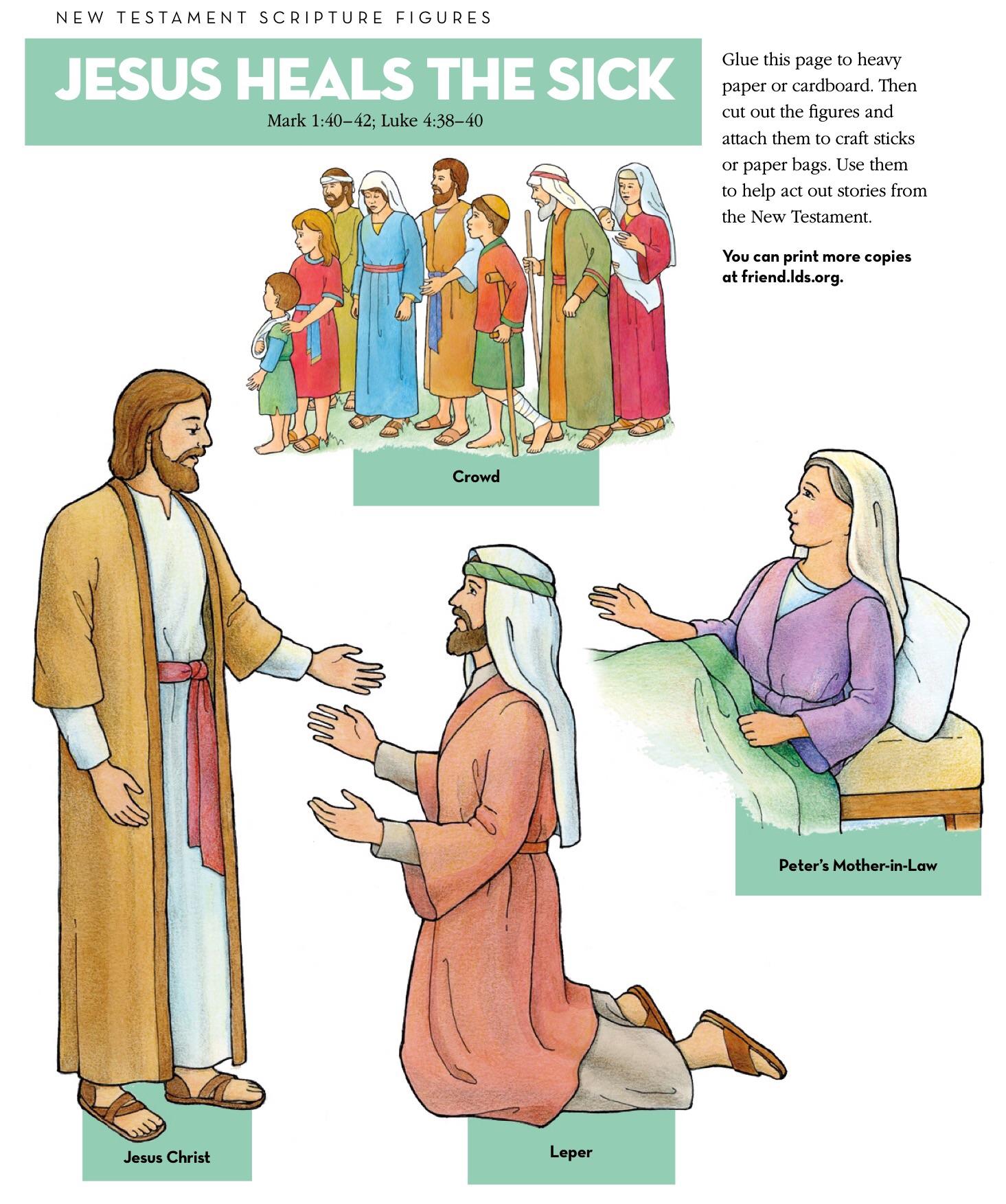 Lds new testament clipart.
