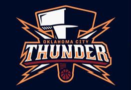 Thunder logo.