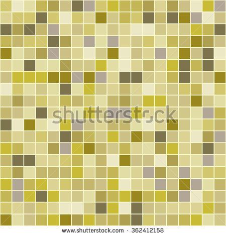 Yellow Square Tile Texture Wall Floor Stock Vector 167130995.