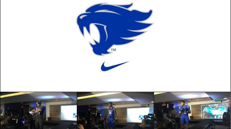 UK Athletics unveils new uniforms, secondary wildcat logo.