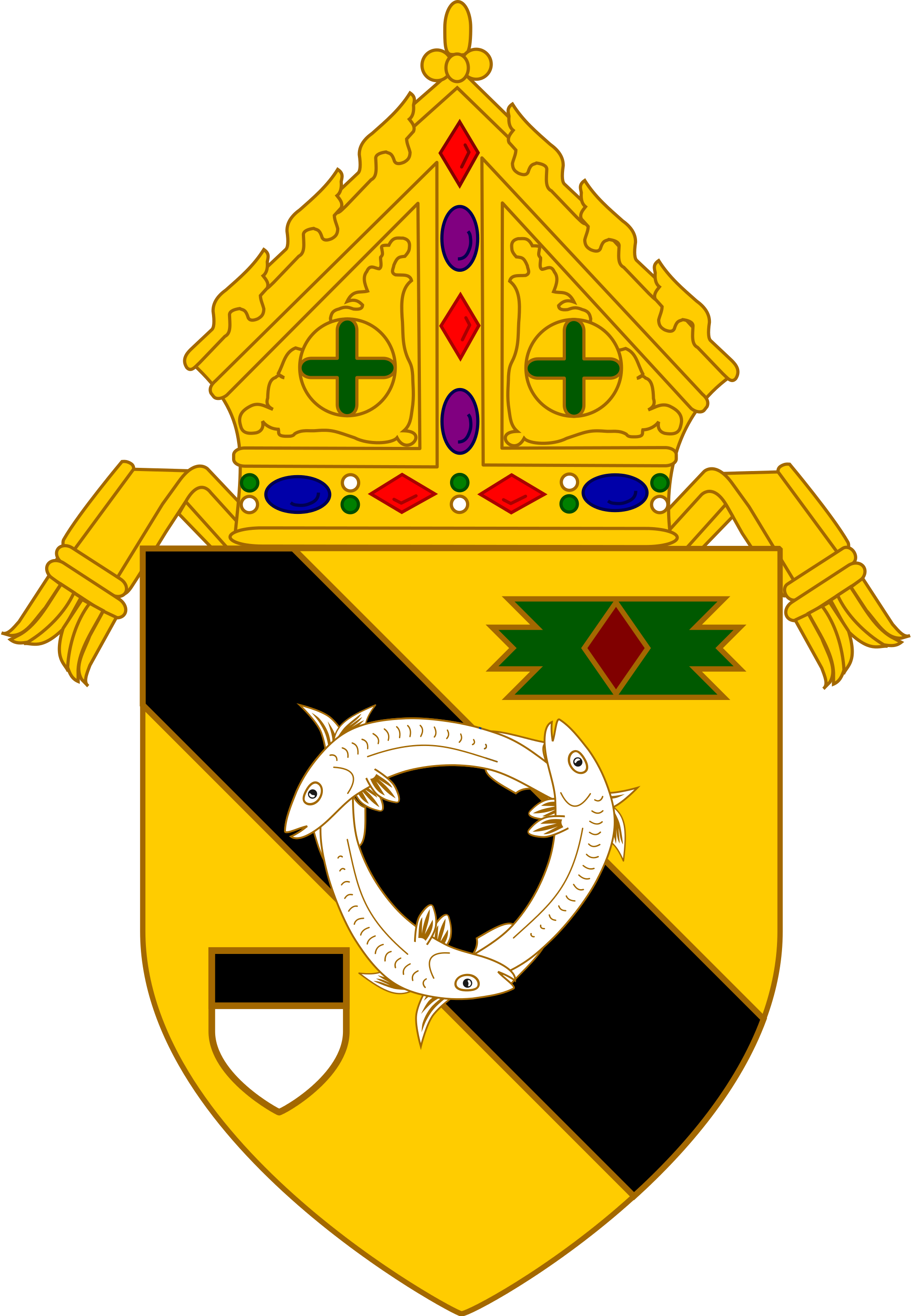 File:Coat of Arms of the Roman Catholic Diocese of New Ulm.svg.