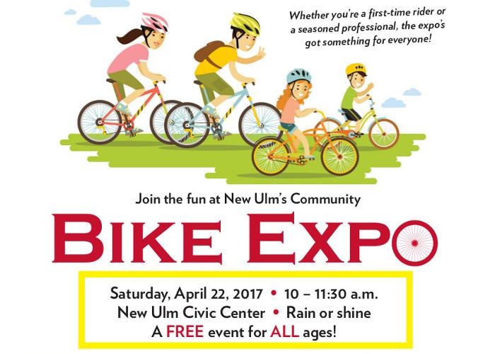 New Ulm Bike Expo April 22.