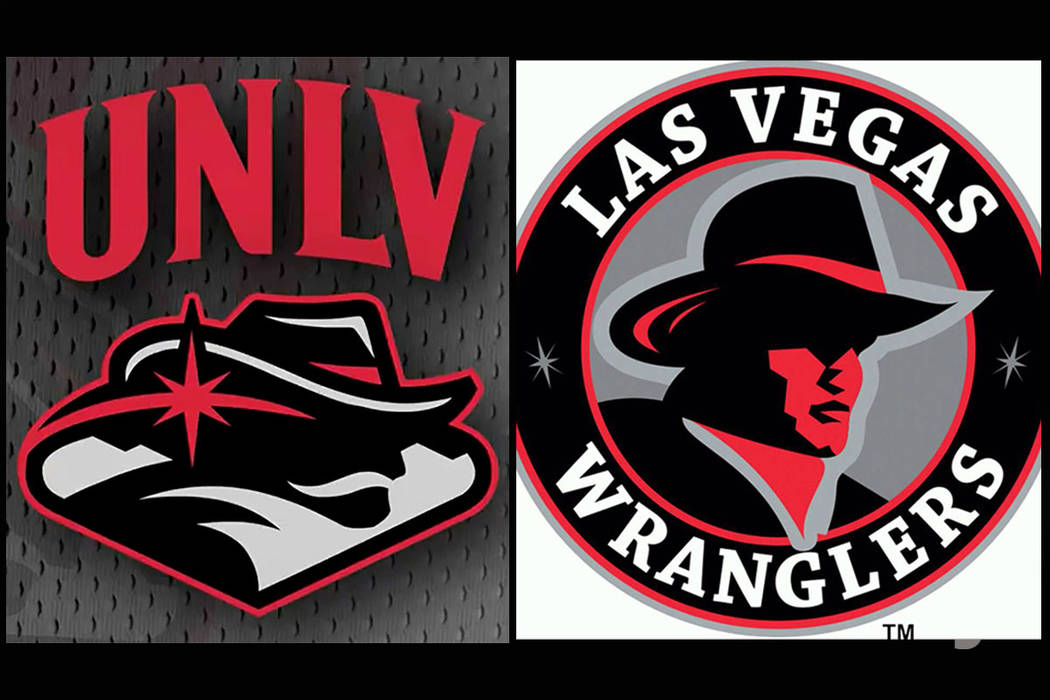 New UNLV logo draws comparisons to Wranglers image.