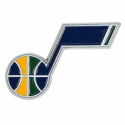 Utah Jazz NBA Color Metal Car Auto Emblem Team Decal Logo Ships Fast for  sale online.