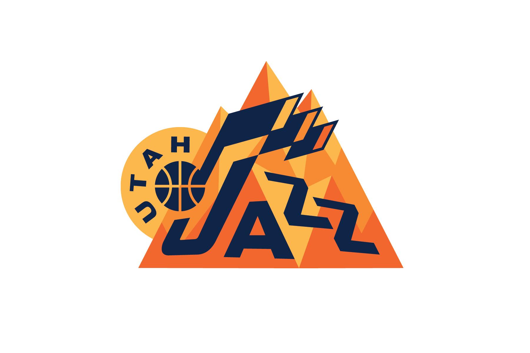 Michael Weinstein NBA Logo Redesigns: Utah Jazz.