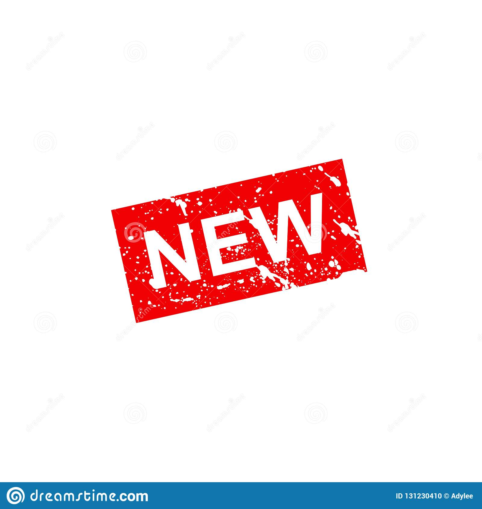Stock Vector New Product Stamp Illustration 15 Stock Photo.