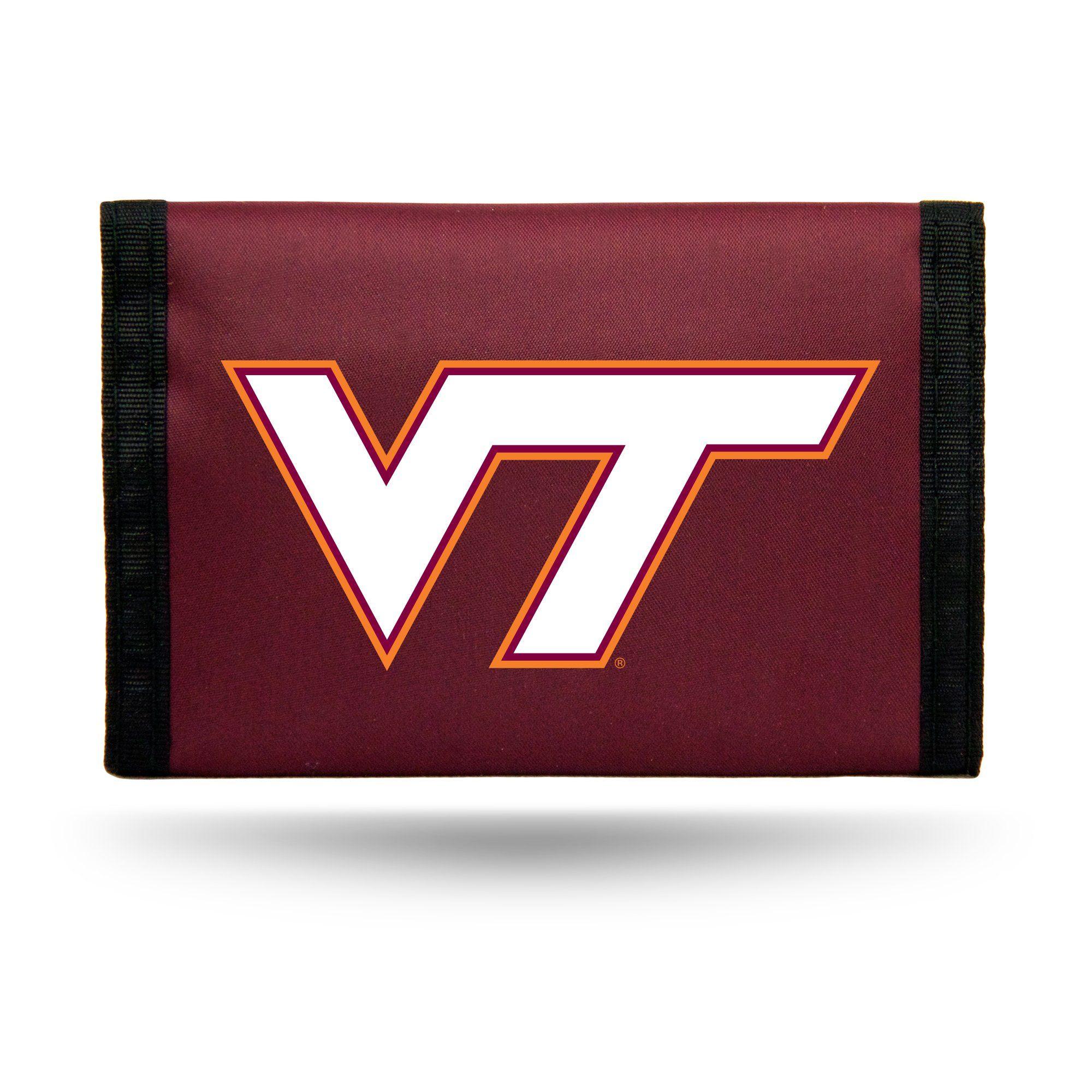 Virginia Tech Hokies Wallet Nylon Trifold Special Order.