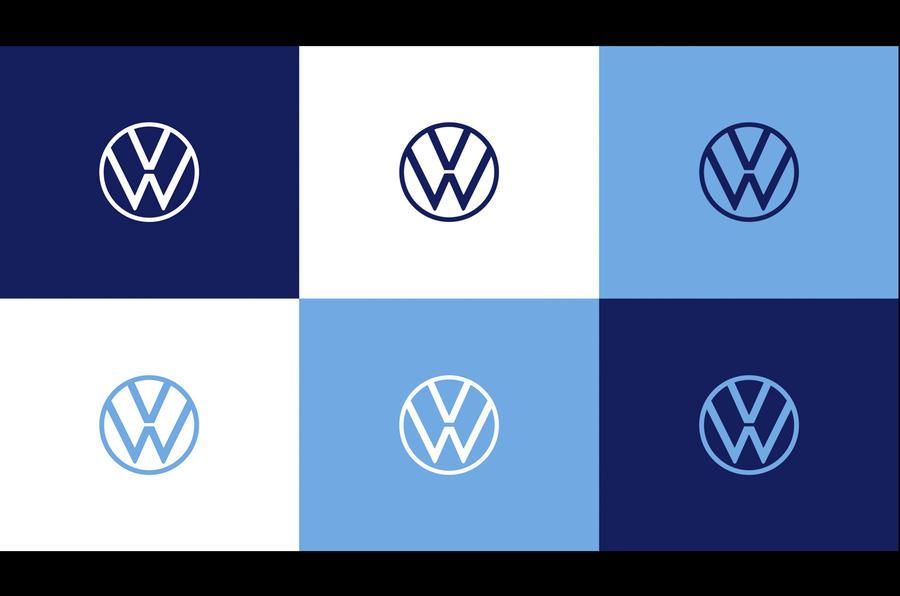 Volkswagen unveils new branding as part of company.
