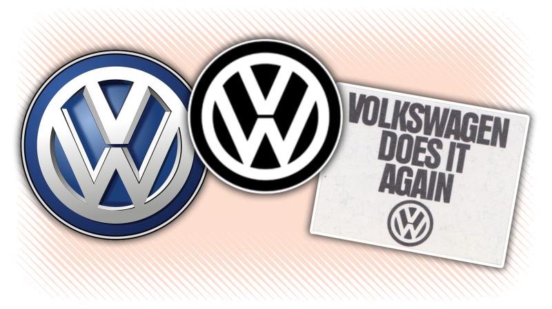 Volkswagen\'s New Logo Is Its Old Logo.