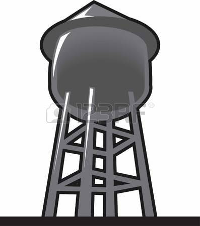 7,756 Water Tower Stock Illustrations, Cliparts And Royalty Free.