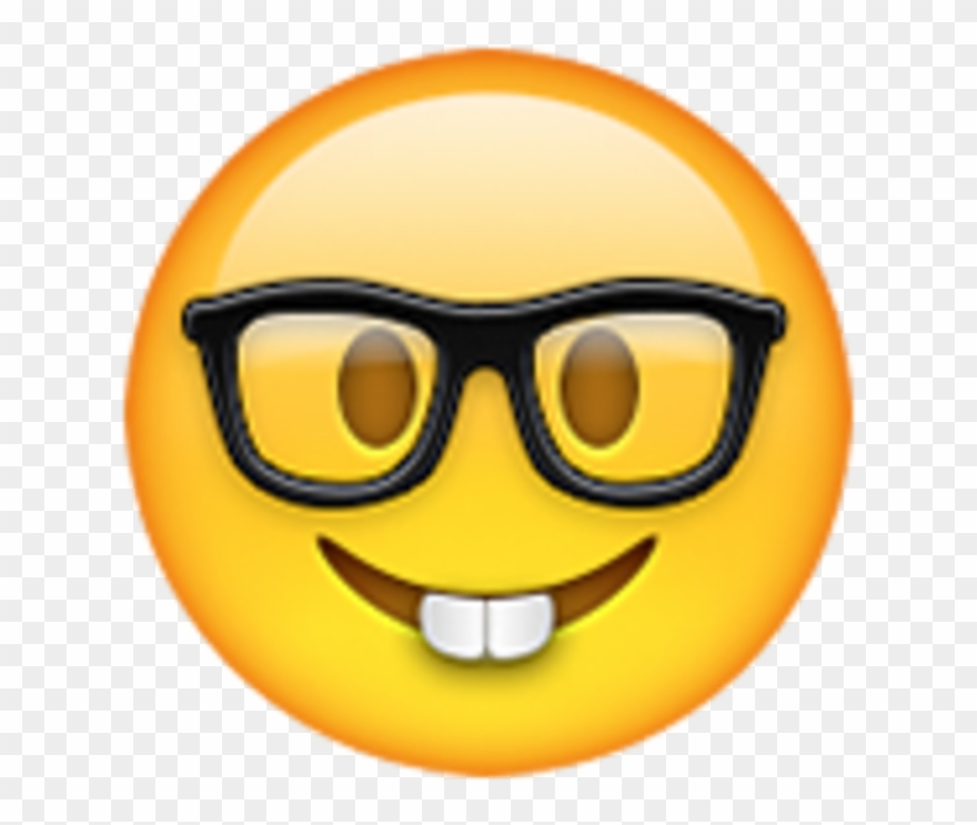 Nerd Email Whatsapp Iphone Emoji Hq Image Free Png Clipart.
