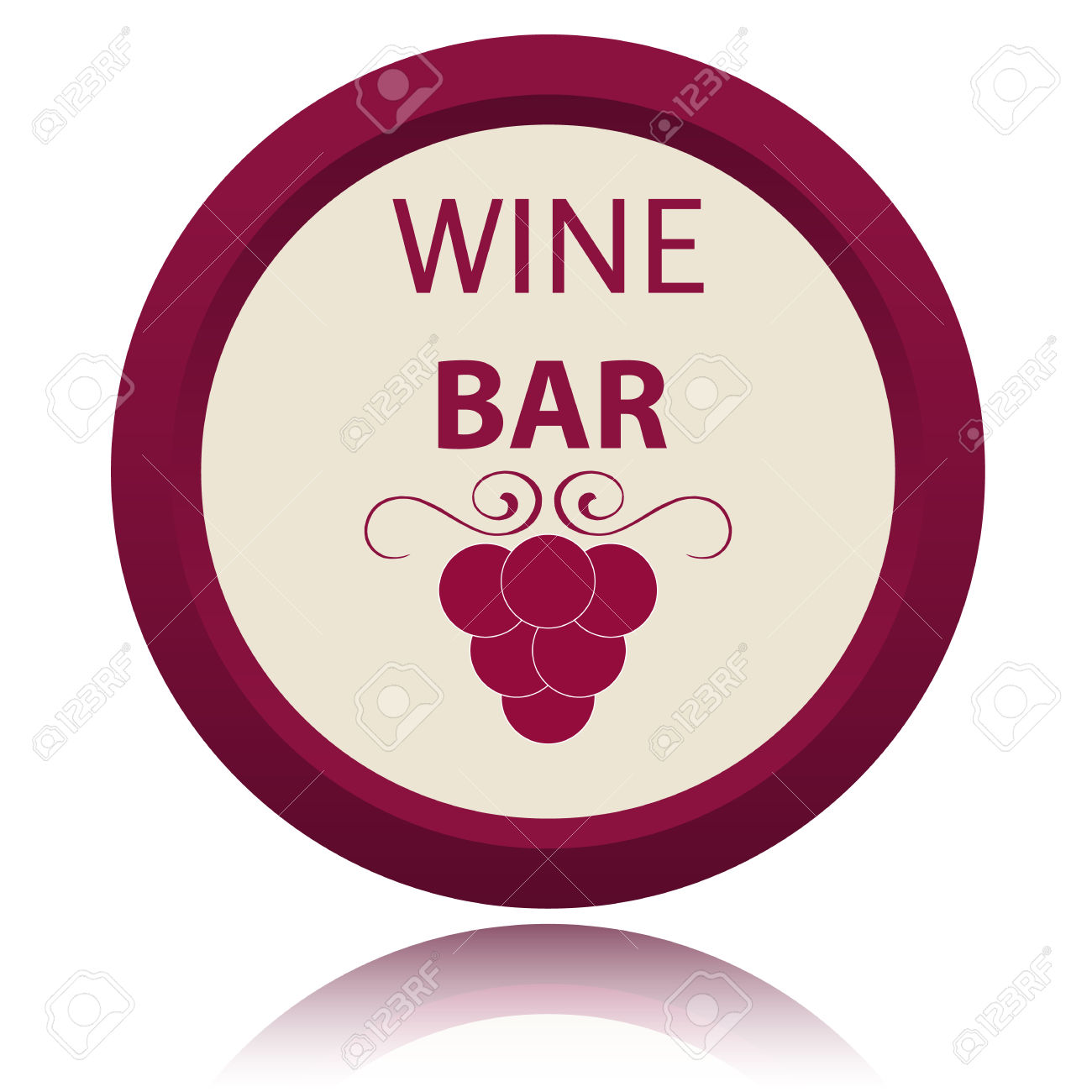 New Wine Icon On A White Background Royalty Free Cliparts, Vectors.