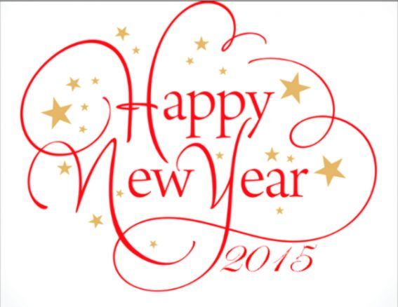 Happy New Year 2015 Clip Art.