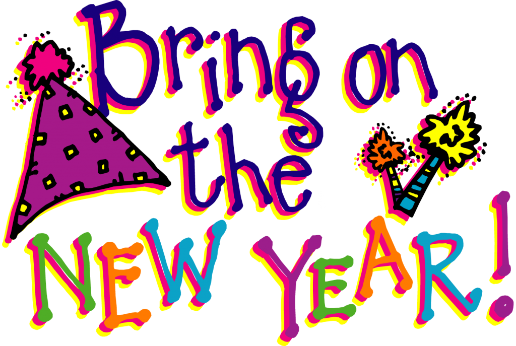 8292 New Year free clipart.