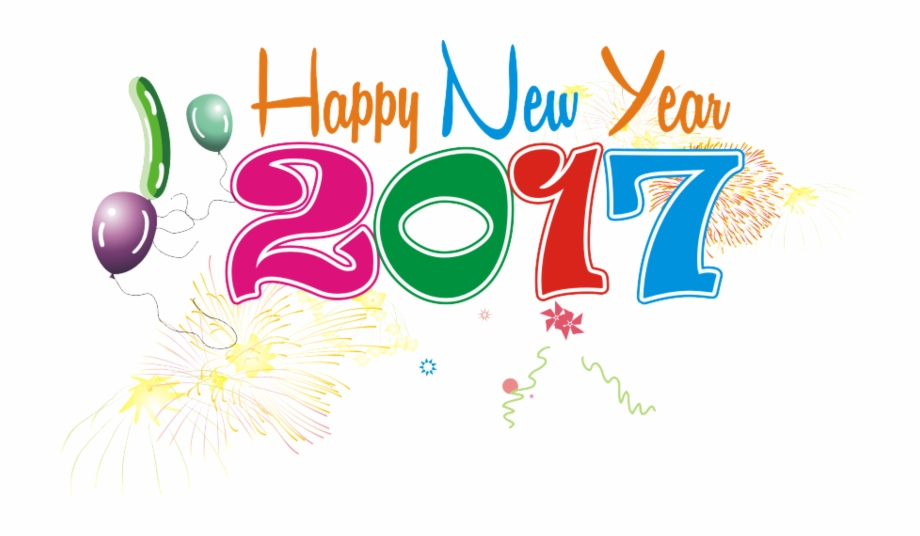 Happy New Year Png Image.