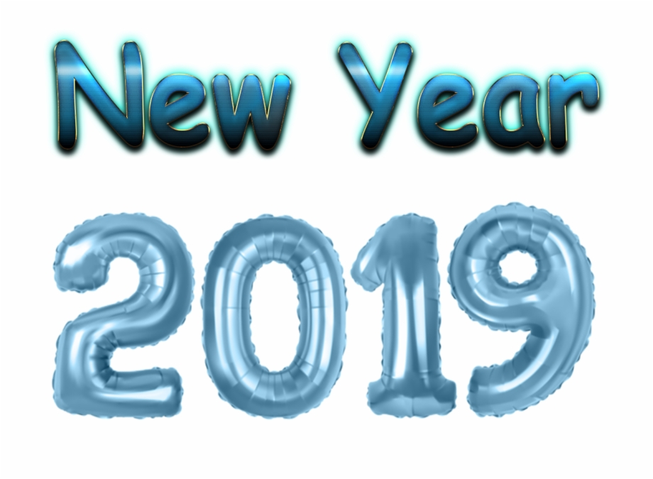 New Year 2019 Png Clipart.