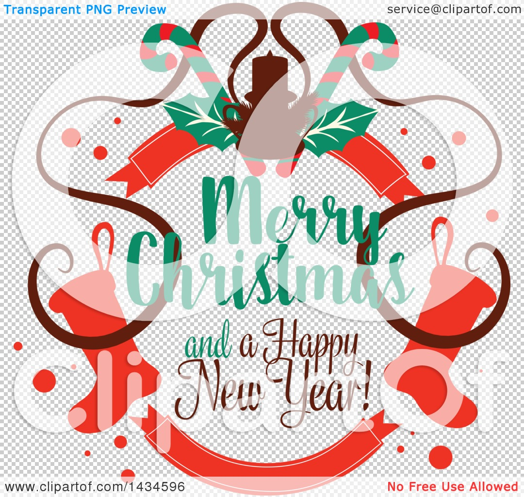 new year and christmas clipart #6