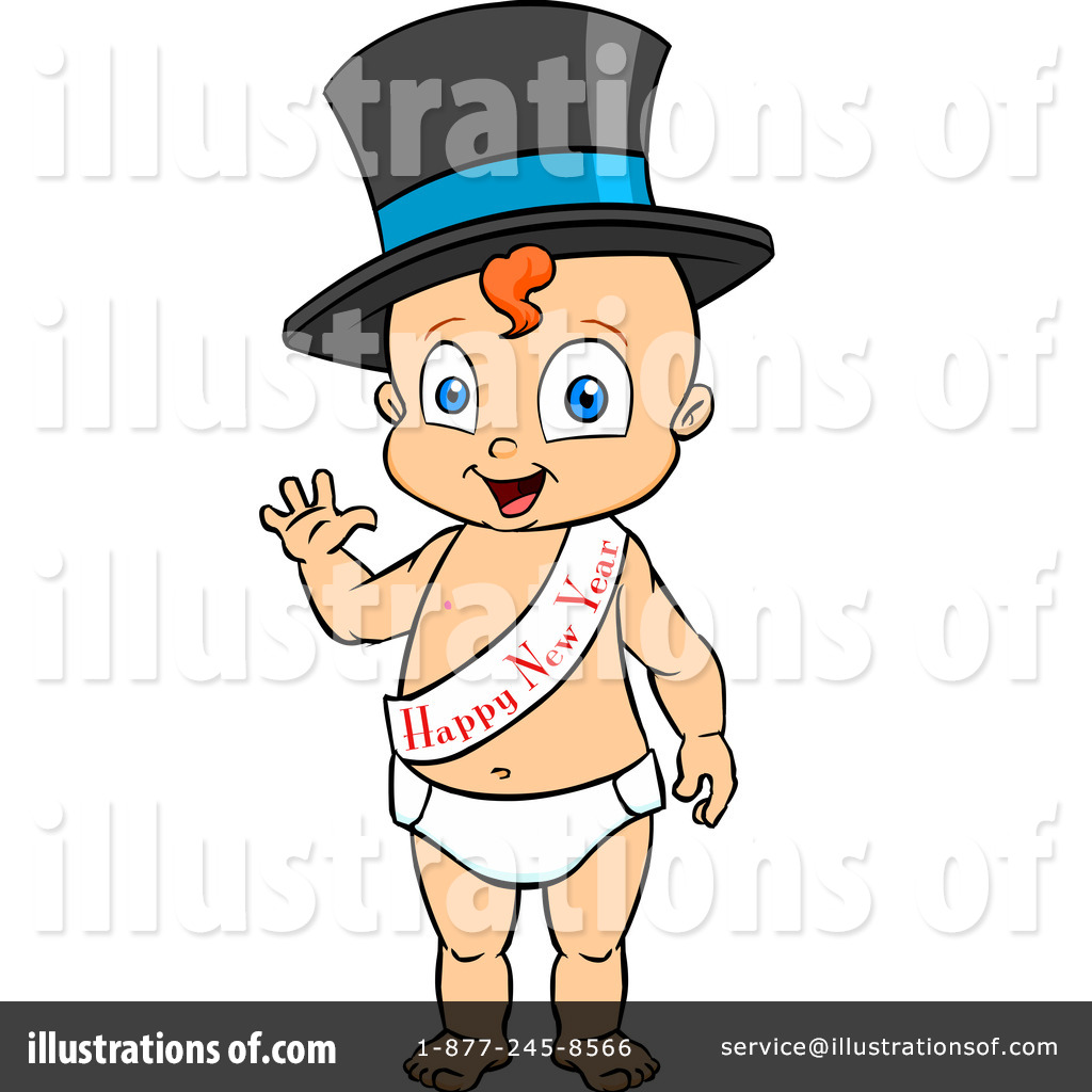 New Year Baby Clip Art Free.