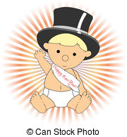 New year baby Vector Clipart EPS Images. 6,351 New year baby.