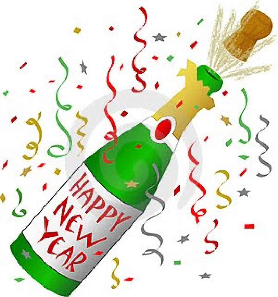 Clipart Of New Year Bell.