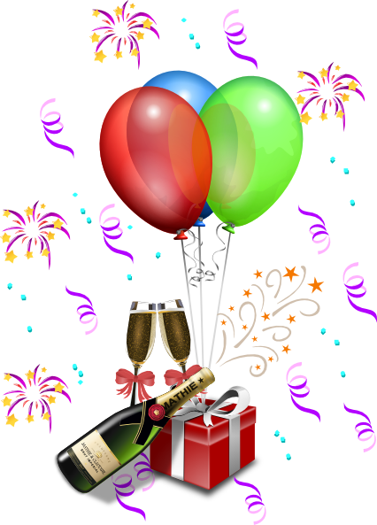 New Year\\ S Eve Celebration Clip Art at Clker.com.