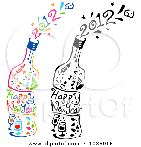 Royalty Free Happy New Year Illustrations by BNP Design Studio Page 1.