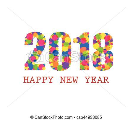 Happy new year clipart 2018 » Clipart Portal.