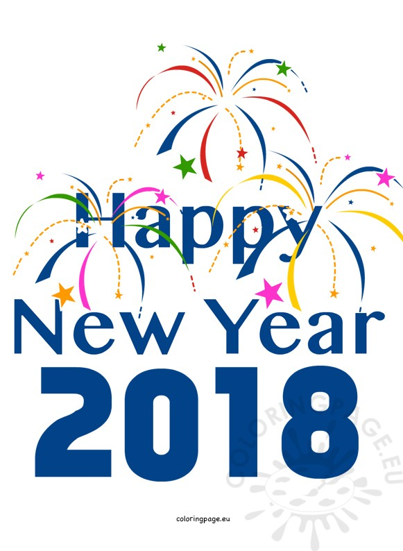 New Years Clipart 2018 at GetDrawings.com.