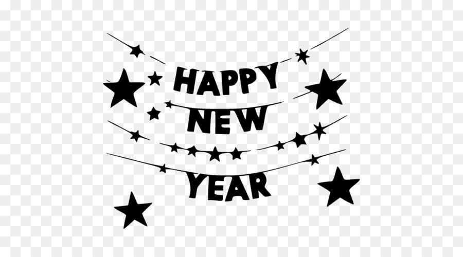 Confetti New Year clipart.