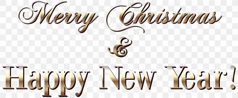 Christmas New Year Santa Claus Clip Art, PNG, 6078x2518px.