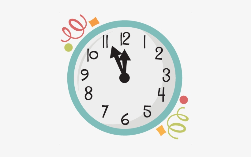 New Years Eve Clock Clnew Years Clock Png.