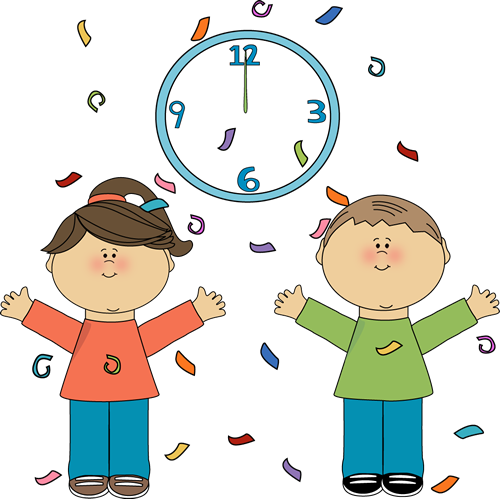 Showing post & media for New year clock cartoon.
