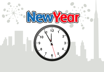 countdown to new year 2018 in new york new year count down clipart