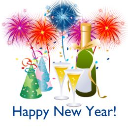 New Year's Eve Party Hat Clipart.
