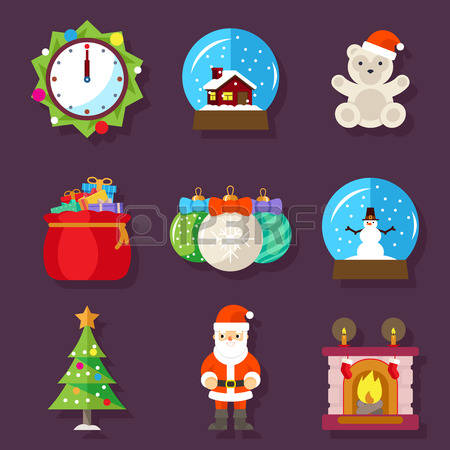 454 Fireplace Christmas Vector Stock Illustrations, Cliparts And.