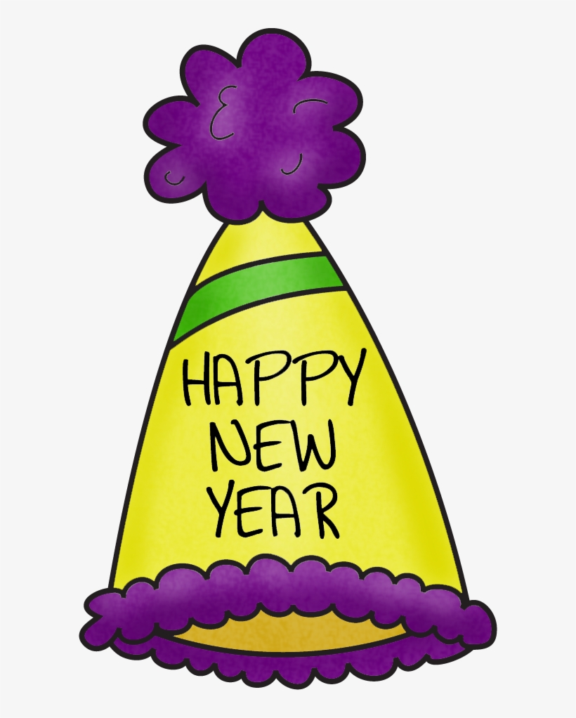 Happy New Year Hat Clipart.