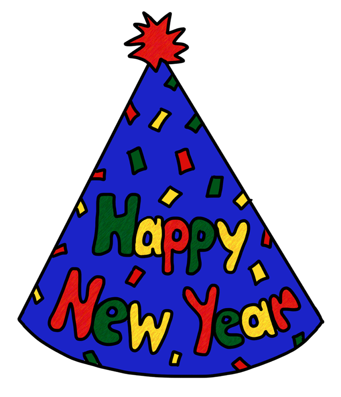 Party hat New Year\'s Eve New Year\'s Day Clip art.